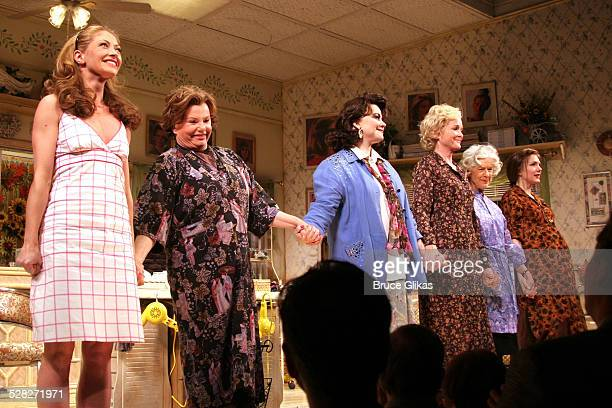 Curtain Call with Rebecca Gayheart Marsha Mason Delta Burke Christine Ebersole Frances Sternhagen and Lily Rabe