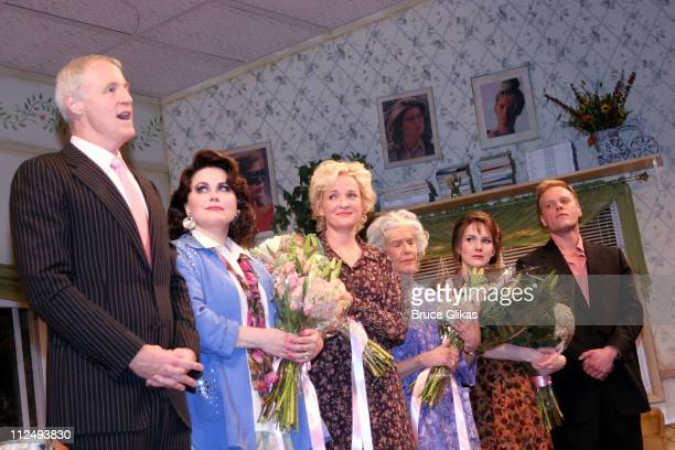 Curtain Call with Robert Harling playwright Delta Burke Christine Ebersole Frances Sternhagen Lily Rabe and Jason Moore director