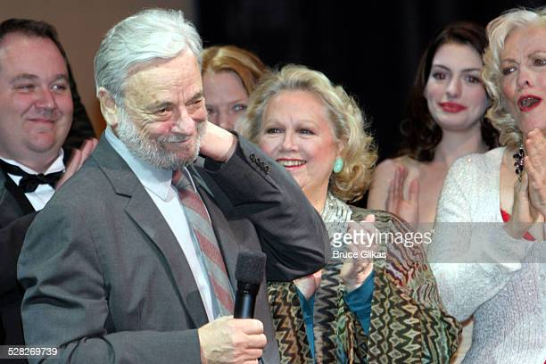 Curtain Call with Stephen Sondheim Barbara CookAnn Hathaway and Betty Buckley