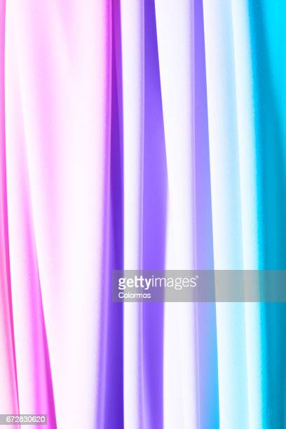 Curtain fabric with various colors