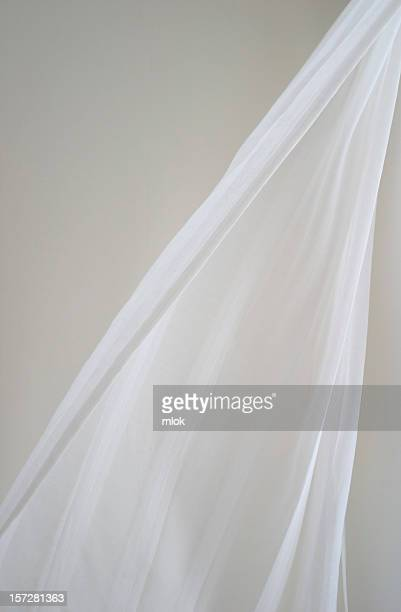 curtain in breeze - veil stock pictures, royalty-free photos & images