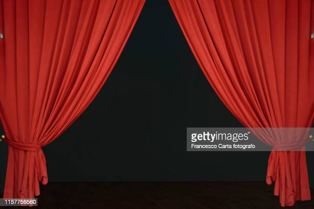 curtain - theatrical performance stock pictures, royalty-free photos & images