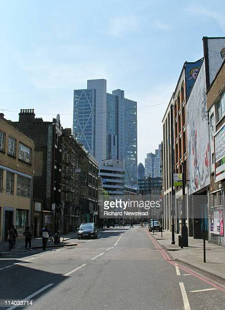 curtain road - shoreditch stock photos and pictures