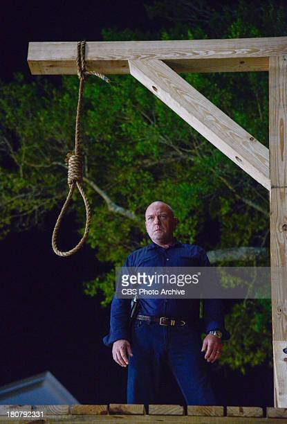 Curtains Jim takes justice into his own hands as he prepares the gallows for an unlucky resident on UNDER THE DOME The season one finale airs Monday...