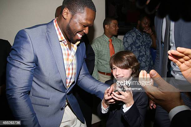 Curtis '50 Cent' Jackson attends Annual Charity Day Hosted By Cantor Fitzgerald And BGC at BGC Partners INC on September 11 2014 in New York City