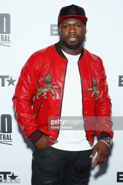 Curtis 50 Cent Jackson attends BET's 50 Central Premiere Party on September 25 2017 in New York City