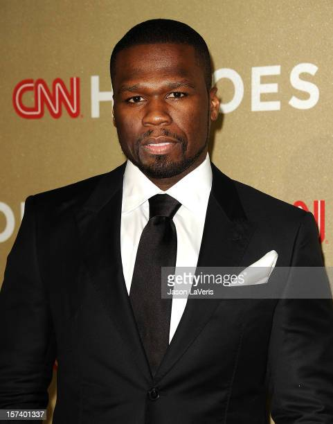 """Curtis """"50 Cent"""" Jackson attends CNN Heroes: An All-Star Tribute at The Shrine Auditorium on December 2, 2012 in Los Angeles, California."""