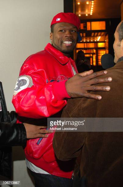 """Curtis """"50 Cent"""" Jackson attends MTV's TRL """"Total Finale Live"""" at the MTV Studios in Times Square on November 16, 2008 in New York City."""