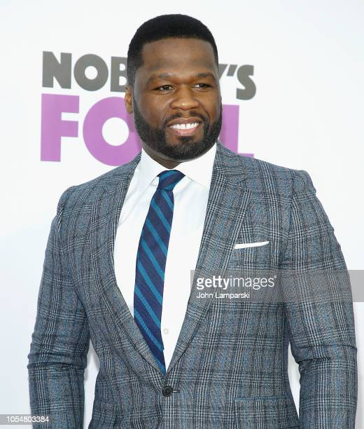 Curtis '50 Cent' Jackson attends 'Nobody's Fool' New York Premiere at AMC Lincoln Square Theater on October 28 2018 in New York City