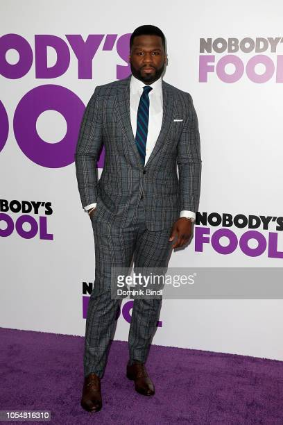 Curtis 50 Cent Jackson attends 'Nobody's Fool' New York Premiere at AMC Lincoln Square Theater on October 28 2018 in New York City