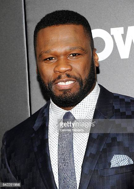 Curtis '50 Cent' Jackson attends 'Power' Season 3 New York Premiere at SVA Theatre on June 22 2016 in New York City