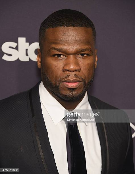 Curtis '50 Cent' Jackson attends Power Season Two Series Premiere at Best Buy Theater on June 2 2015 in New York City