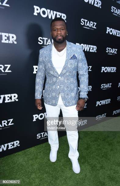 Curtis '50 Cent' Jackson attends STARZ 'Power' Season 4 LA Screening And Party at The London West Hollywood on June 23 2017 in West Hollywood...