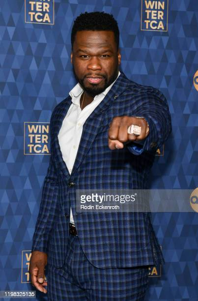 Curtis 50 Cent Jackson attends the ABC Television's Winter Press Tour 2020 at The Langham Huntington Pasadena on January 08 2020 in Pasadena...