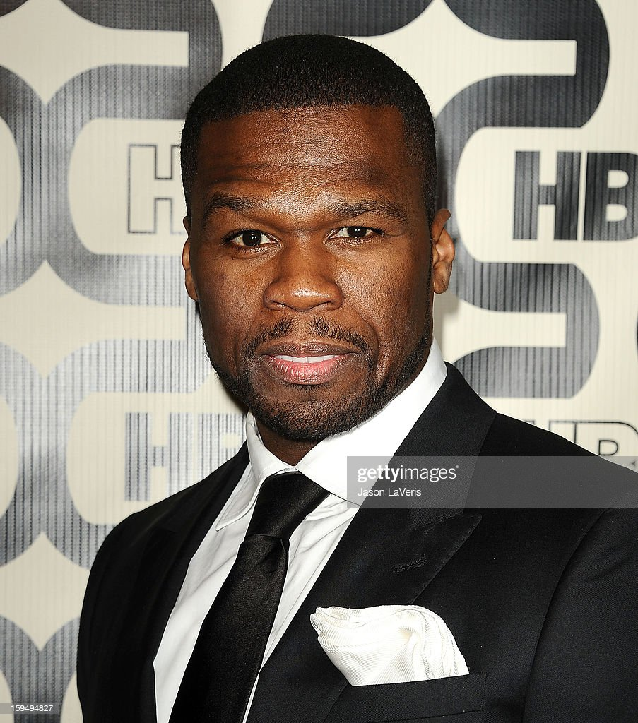 Curtis '50 Cent' Jackson attends the HBO after party at the 70th annual Golden Globe Awards at Circa 55 restaurant at the Beverly Hilton Hotel on January 13, 2013 in Los Angeles, California.