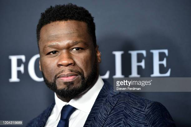 Curtis 50 Cent Jackson attends the New York Premiere of ABC's For Life at Alice Tully Hall Lincoln Center on February 05 2020 in New York City
