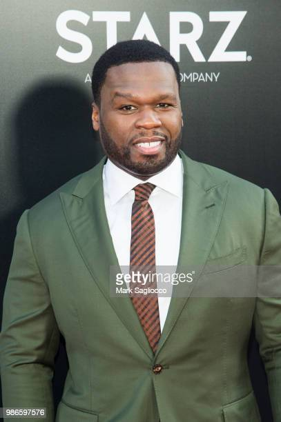 Curtis '50 Cent' Jackson attends the 'Power' Season 5 Premiere at Radio City Music Hall on June 28 2018 in New York City