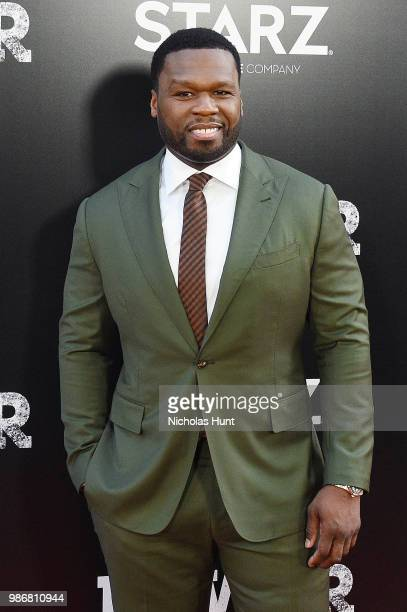 Curtis 50 Cent Jackson attends the POWER Season 5 Premiere at Radio City Music Hall on June 28 2018 in New York City