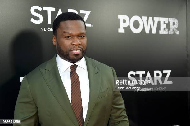 Curtis '50 cent' Jackson attends the Starz 'Power' The Fifth Season NYC Red Carpet Premiere Event After Party on June 28 2018 in New York City