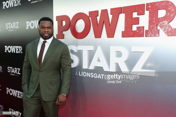 Curtis 50 cent Jackson attends the Starz Power The Fifth Season NYC Red Carpet Premiere Event After Party on June 28 2018 in New York City