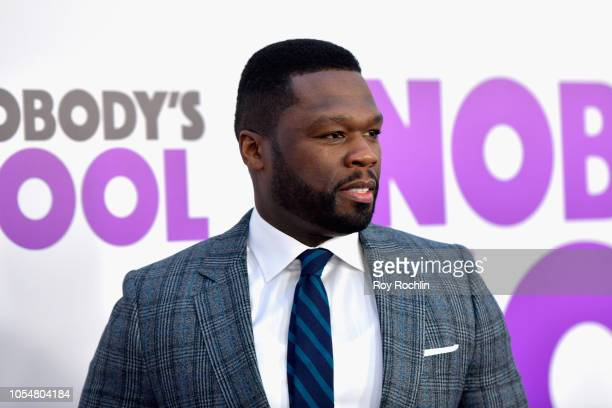 Curtis '50 Cent' Jackson attends the world premiere of 'Nobody's Fool' at AMC Lincoln Square Theater on October 28 2018 in New York New York