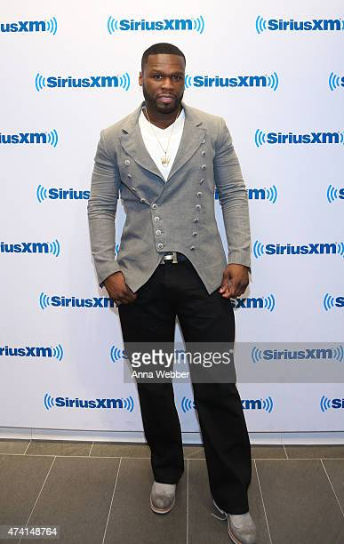 Curtis '50 Cent' Jackson visits SiriusXM Studios on May 20 2015 in New York City