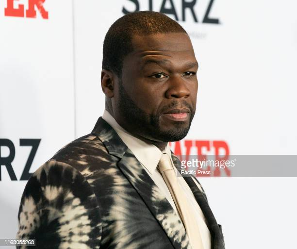 Curtis 50 Cents Jackson attends STARZ Power Season 6 premiere at Madison Square Garden.