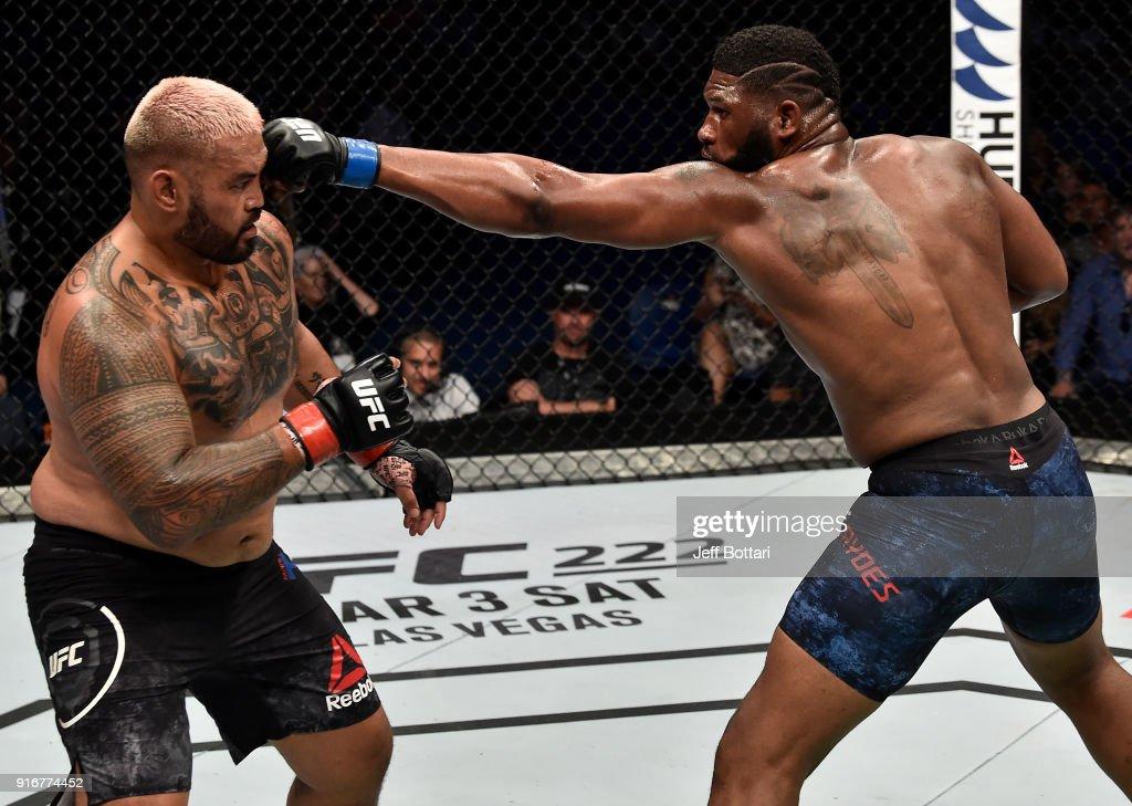 UFC 221: Hunt v Blaydes : News Photo