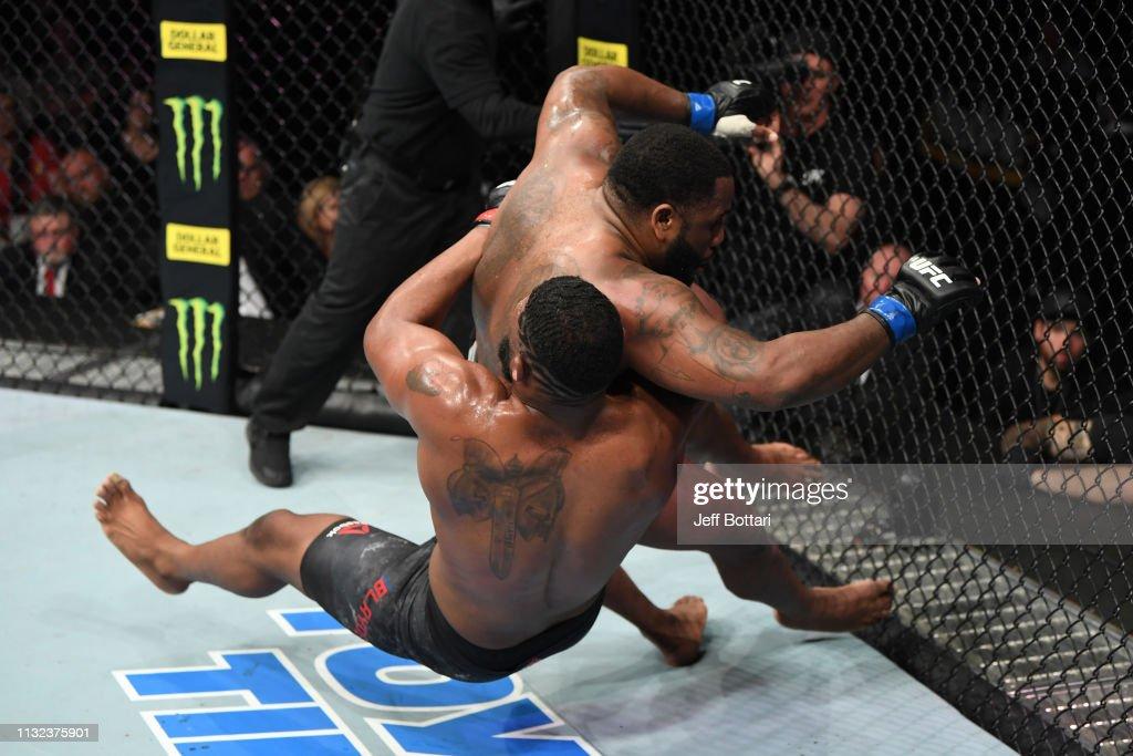 UFC Fight Night: Blaydes v Willis : News Photo