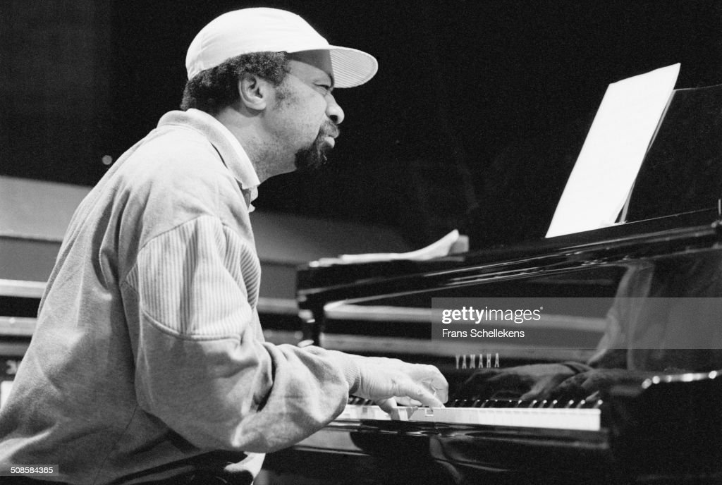 Curtis Clark, piano, performs at the BIM Huis on 6th December 1995 in Amsterdam, Netherlands.