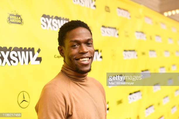 Curtis Cook Jr attends the The Day Shall Come Premiere 2019 SXSW Conference and Festivals at Paramount Theatre on March 11 2019 in Austin Texas