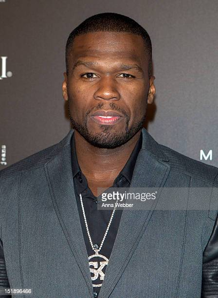 Curtis Fifty Cent Jackson arrives to Us Weekly's 25 Most Stylish New Yorkers Event at STK Midtown on September 12 2012 in New York City