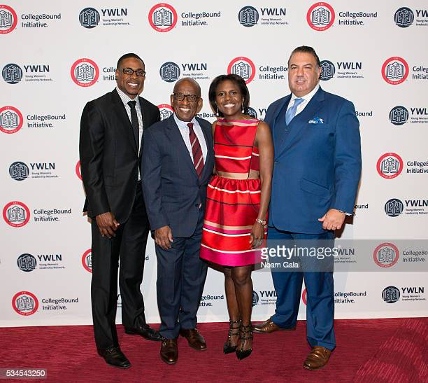 Curtis Granderson Al Roker Deborah Roberts and John Koudounis attend the 2016 CollegeBound Initiative celebration at Jazz at Lincoln Center on May 26...