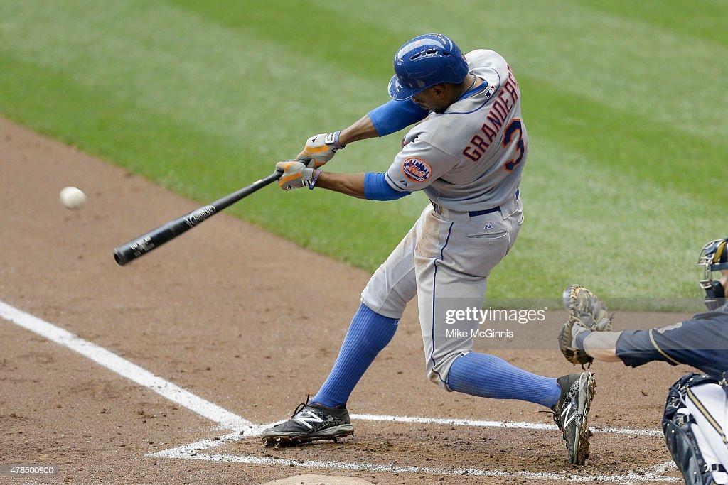 New York Mets v Milwaukee Brewers : News Photo