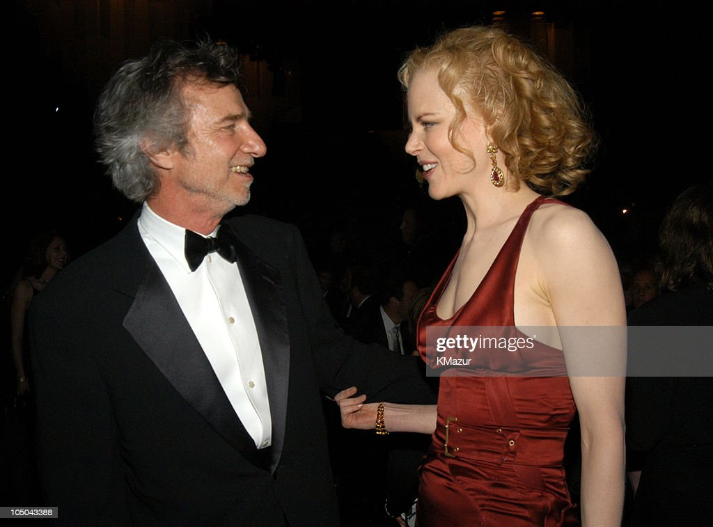 Curtis Hanson and Nicole Kidman during Ninth Annual Screen Actors Guild Awards - Backstage and Audience at The Shrine Auditorium in Los Angeles, California, United States.