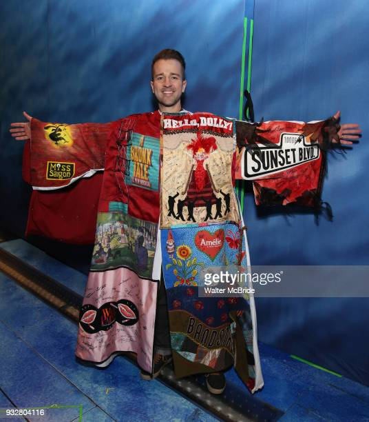 Curtis Holbrook recipient for 'SpongeBob SquarePants' during the Actors' Equity Gypsy Robe Ceremony honoring Matt Allen for 'Escape To...