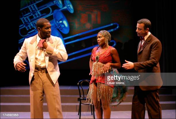 Curtis I'Cook as Clem Suzzanne Douglas as Georgiana and Stephen Zinato as Harvery performing in 'Hallelujah Baby' a Tony Award winning musical about...