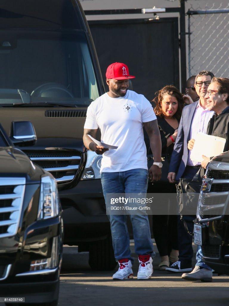 Celebrity Sightings In Los Angeles - July 13, 2017 : News Photo