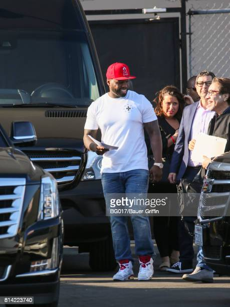 Curtis Jackson aka '50 Cent' is seen at 'Jimmy Kimmel Live' on July 13 2017 in Los Angeles California