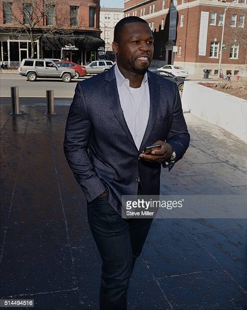 Curtis Jackson also known as 50 Cent makes an appearance at bankruptcy court on March 09 2016 in Hartford CT Jackson filed for bankruptcy one year...