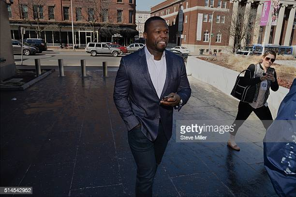 Curtis Jackson also known as 50 Cent makes an appearance at bankruptcy court on March 09 2016 in Hartford Connecticut Jackson filed for bankruptcy...