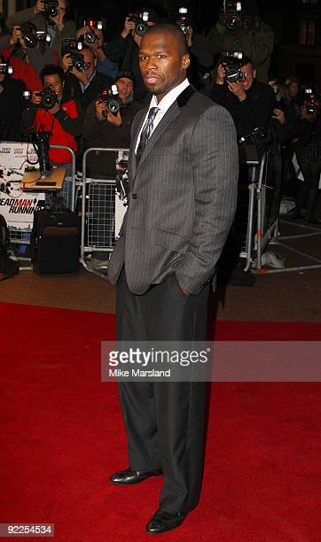 Curtis Jackson attends the UK Premiere of 'Dead Man Running' at Odeon Leicester Square on October 22, 2009 in London, England.
