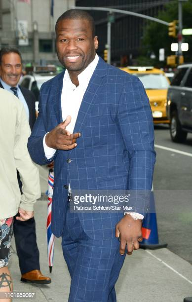 Curtis Jackson is seen on August 14 2019 in New York City