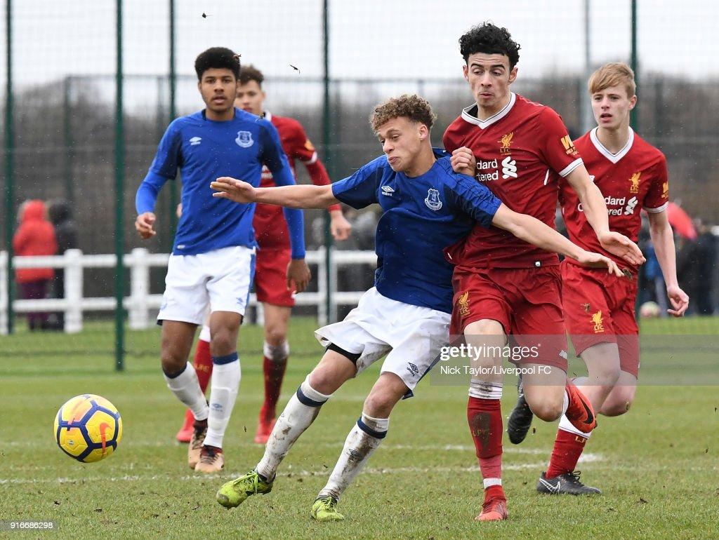 Everton v Liverpool: U18 Premier League : News Photo