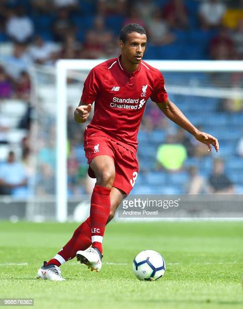 Curtis Jones of Liverpool during the PreSeason friendly match between Bury and Liverpool at Gigg Lane on July 14 2018 in Bury England