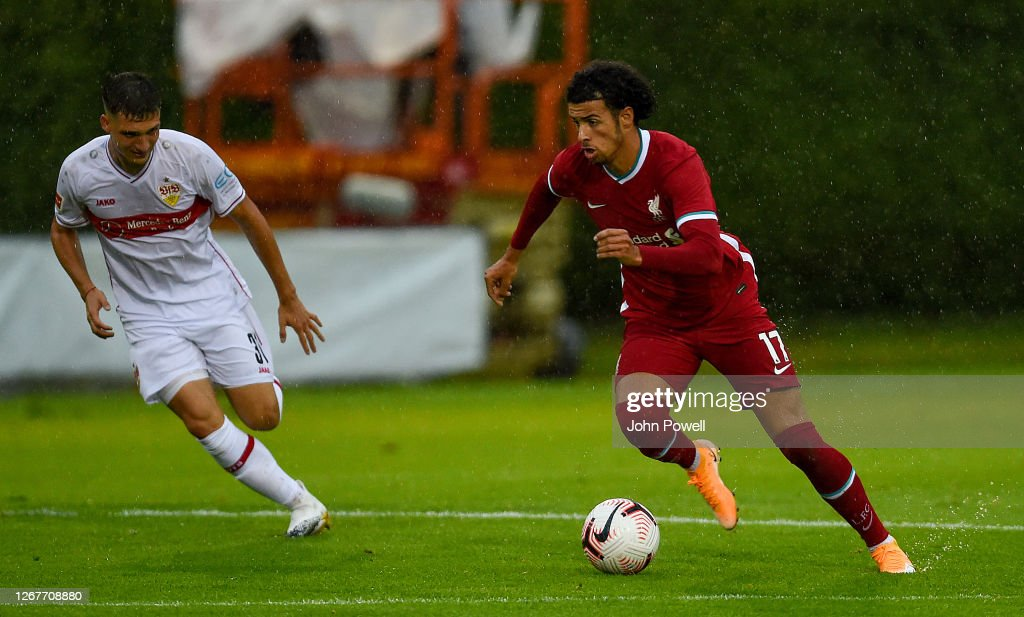 Liverpool v VfB Stuttgart - Pre-Season Friendly : News Photo