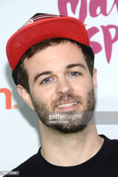 Curtis Lepore attends the Aquafina FlavorSplash Launch Party With Austin Mahone Nick Cannon at Sony Pictures Studios on October 15 2013 in Culver...