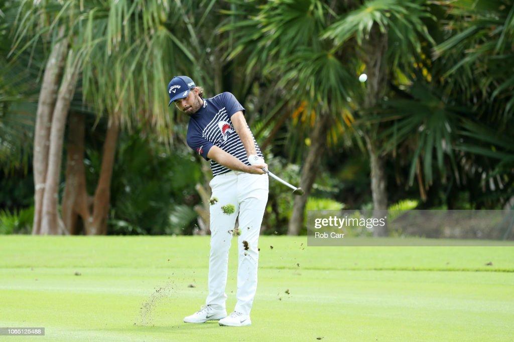 Mayakoba Golf Classic - Round One : News Photo