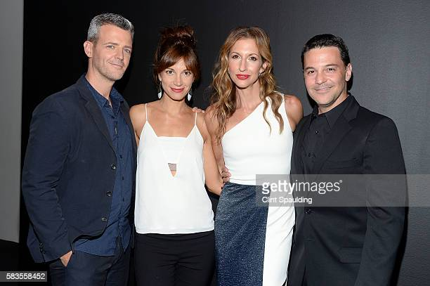 Curtis Mark Williams Jama Williamson Alysia Reiner and David Alan Basche attends a Screening of Sony Pictures Classics' Equity hosted by The Cinema...