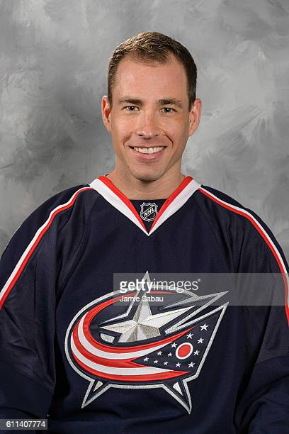 Curtis McElhinney of the Columbus Blue Jackets poses for his official headshot for the 201617 season on September 22 2016 at Nationwide Arena in...